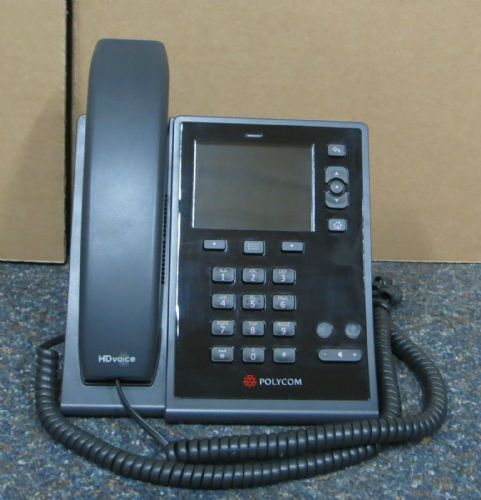 Polycom CX500 IP Desktop Business Phone PoE With Stand & Handset 2201-44300-001